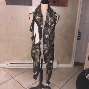 Silky safari cheetah scarf